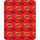 Childrens/Kids Boys Disney Cars Design Fleece Blanket/Throw