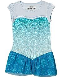 Disney Frozen I Am Elsa Glitter Tunic T-Shirt | L