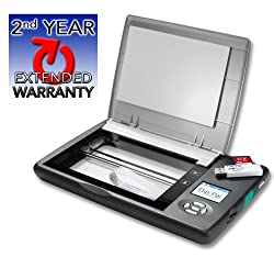 Flip-Pal mobile scanner with 2nd year extended warranty
