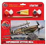 Toy - Airfix A55100 Supermarine Spitfire MkIA 1:72 Scale Model Small Starter Set