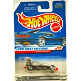 1998 - Mattel / Hot Wheels - Super Modified (Black) - 1998 First Editions #27 of 40 Cars - Collector #664 - MOC - Out of Production - Collectible (Color: Black, Tamaño: 1:64 Scale)