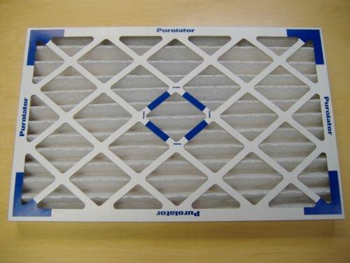 Purolator 16X25X2 Hi-E40 Merv 8 Replacement Furnace Filter (Pack of 6)