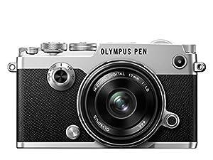 Olympus PEN F Camera - Silver (17 mm Lens)