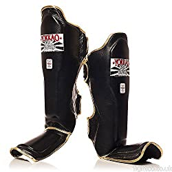 Yokkao Black Muay Thai Shin Guards