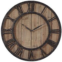 Uttermost 06344 Powell Wooden Wall Clock