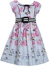Bonnie Jean Girls Easter Rose Dress Pink 4 - 6x