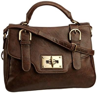 Jane Shilton Women's Mint 9688 Cross Body Bag Brown