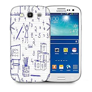 Snoogg Mathematics Designer Protective Phone Back Case Cover For Samsung Galaxy S3