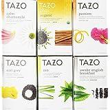 Tazo Assorted Tea Sampler (Pack of 12, 2 of each flavor)