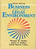 img - for Business and Its Legal Environment by Thomas W Dunfee (1991-12-09) book / textbook / text book