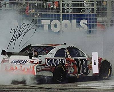 Kyle Busch Signed Autographed NASCAR Glossy 8x10 Photo