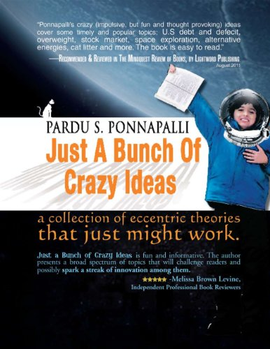 Kindle Daily Deal For Sunday, Dec. 23 – 4 Kindle Book Deals Including Daily Romance, Science Fiction & Fantasy Deals, plus Pardu Ponnapalli's Just a Bunch of Crazy Ideas – 45/47 Rave Reviews & Just 99 Cents (today's sponsor)