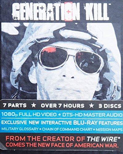 Blu-ray : Generation Kill (Digipack Packaging, Standard Screen, 3 Disc)