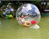 Canty Wang ® Water Walking Roll Ball Inflatable Zorb Ball Soccer Bubble PVC 2m