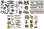 Pack Of 40+ Designs Fake Pretend Temp...