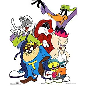 Looney Tunes Bugs Bunny and Friends Hip-Hop Art Print Poster