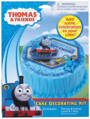 Thomas the Tank Engine Cake Decorating Kit - 1