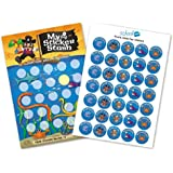 A4 Pirate Reward Chart with 70 Matching Stickers Parents Home Behaviour Awards