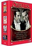 echange, troc Coffret opérettes - Tino Rossi & Luis Mariano : Le Chanteur de Mexico - Lumières de Paris - Violettes Impériales - Sérénad