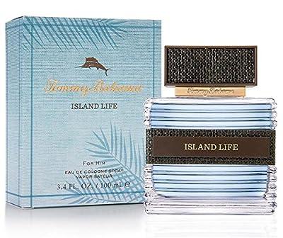 Tommy Bahama Island Life Eau De Cologne Spray for Him, 3.4 Ounce