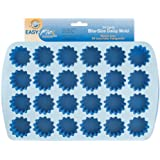 Wilton 2105-4889 Easy Flex Silicone 24-Cavity Bite Daisy Pan