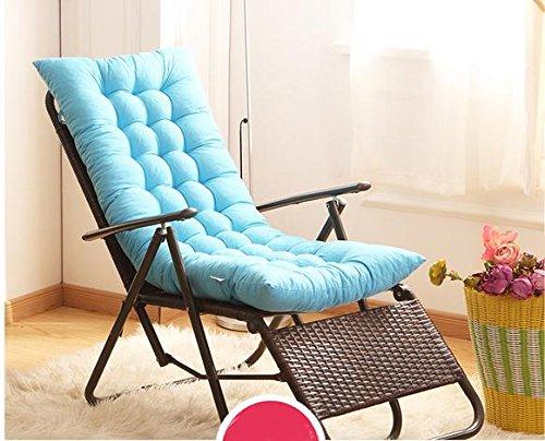 New day-Winter folding reclining cushion mattress rocking chair cushion cushion cushion thicker non - slip under the rattan chair mat pad sofa cushion , 125*48 , c