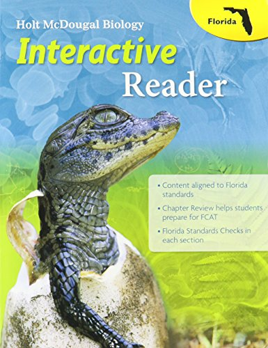 Holt McDougal Biology Florida: Interactive Reader