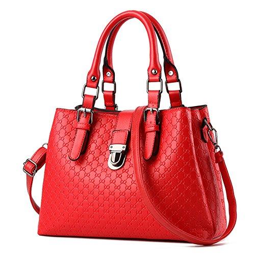 Capacità massima del nuovo di mezza età pacchetto femmina marea Elegante borsetta necessitano di un grande piacere Ms. pacchetti pacchetto , madre di rosso