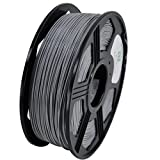 YOYI 3D PLA 1KG 1.75mm Gray PLA 3D Printer Filament, Diameter Tolerance +/- 0.05 mm, 1 KG Spool, 1.75 mm, Gray