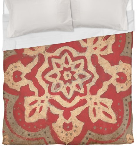 Coral Duvet Cover Queen front-1035158