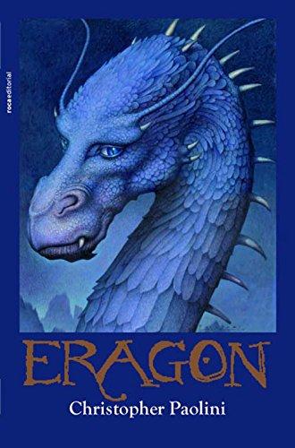 Portada del libro Eragon de Christopher Paolini
