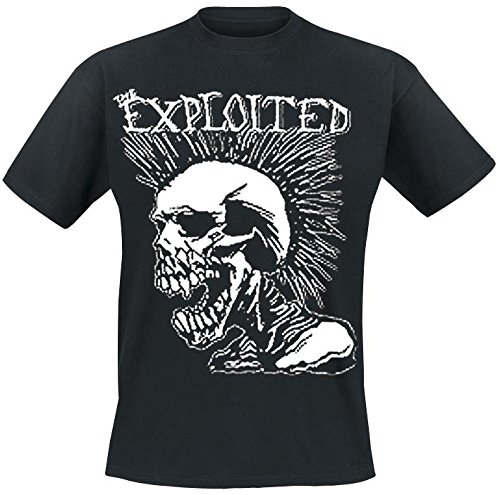 Exploited - T-Shirt Skull (in M)