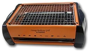 Livart LV-982 Electric Barbecue Grill, Orange from LG Livart