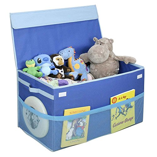 Kids Collapsible Ottoman Toy Books Box Storage Seat Chest: How To Organize Kids Toys