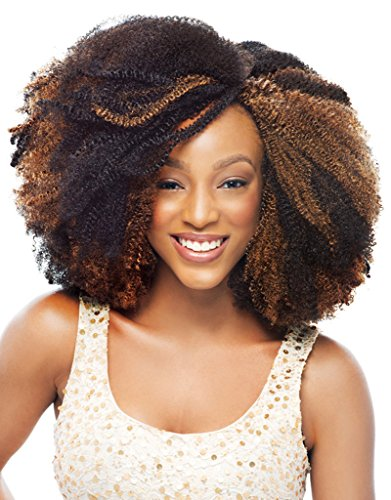 Crochet Braids Marley Hair Janet Collection : Janet Collection Afro Twist Marley Braid Crochet Hair 4 Pack (#4) Arts ...