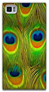The Racoon Grip Bright Feathers hard plastic printed back case / cover for Xiaomi Mi3