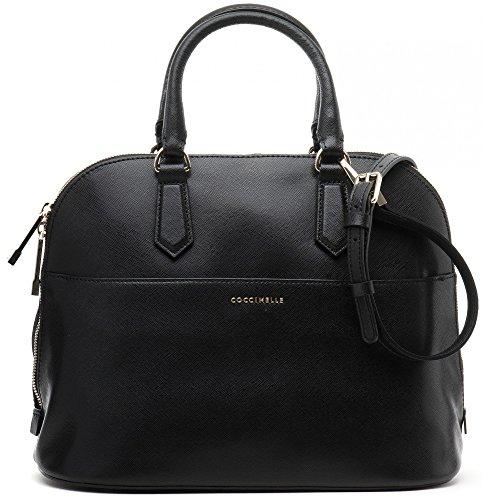 COCCINELLE-Damen-Handtaschen-Henkeltaschen-Shopper-Tote-Bags-Saffiano-Leder-31x25x14-cm-B-x-H-x-T