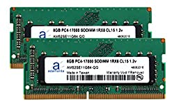 Adamanta 16GB (2x8GB) Laptop Memory Upgrade for MSi Workstation WT72 6QL-283US (6TH GEN) DDR4 2133Mhz PC4-17000 SODIMM 1Rx8 CL15 1.2v Notebook DRAM