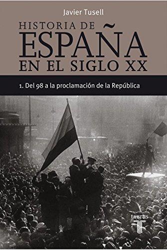 Del 98 A La Proclamación De La República