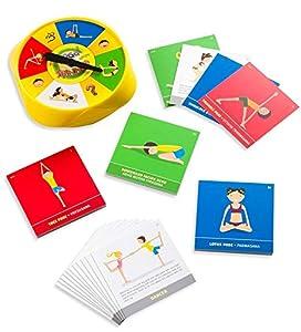 Yoga Spinner Board Game