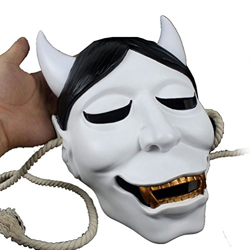 HOZER Resin Halloween Day Ghost Mask Cosplay for Halloween,Cosplay,Night Party