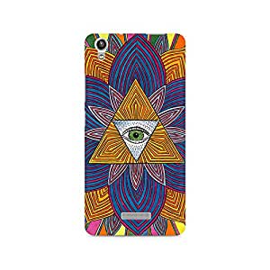 Mobicture Premium Printed Back Case Cover With Full protection For Lava Pixel V1