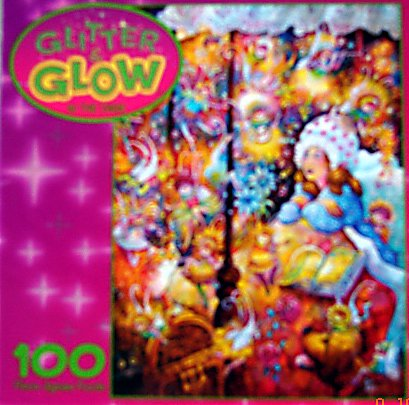 Glitter and Glow in the Dark Sugar Plum Fairies Puzzle