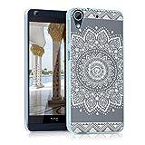 kwmobile Crystal Case Hülle für HTC Desire 626G mit Blume
