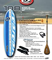 California Board Company Stand Up Paddle Board Set, 9-Feet, Assorted from Keeper Sports