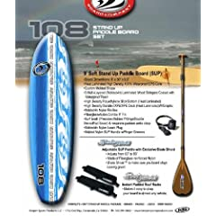 Keeper Sports Stand Up Paddle Board Set by California Board Company