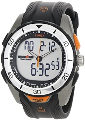 Timex® Men's IRONMAN® 50-Lap Dual-Tech Silver Case Sports Watch #T5K402 from Timex