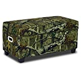 Mossy Oak Jack Break-Up Infinity Upholstered Storage Bench