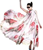 BEST-DO New Summer Elegant BoHO Lotus Leaf Big Hem Chiffon Maxi Flowers Dress Long Dress
