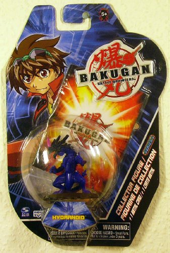 "Bakugan Battle Brawlers 2"" Collector Figure - Hydranoid - 1"